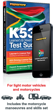 K53 learners and drivers test success download k53 learners pass your k53 learners drivers tests with topscore fandeluxe Gallery