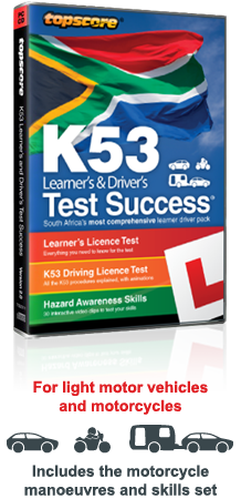 Topscore K53 learner's and Driver's Test Success CD